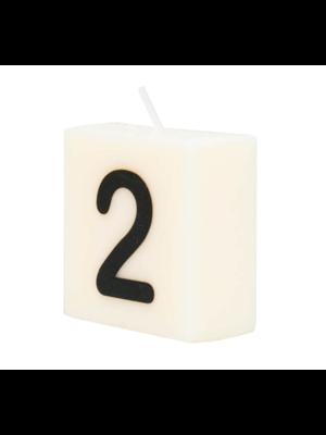 Paperdreams Cijfer- / letterkaarsje - Scrabble - 2