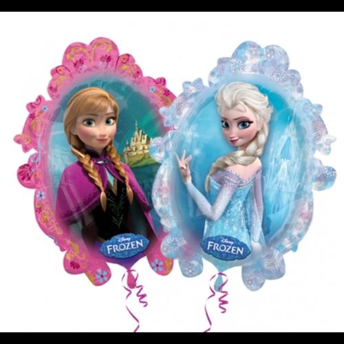 Anagram Anagram - Folieballon - Frozen - Anna & Elsa - Zonder vulling - 63x78cm