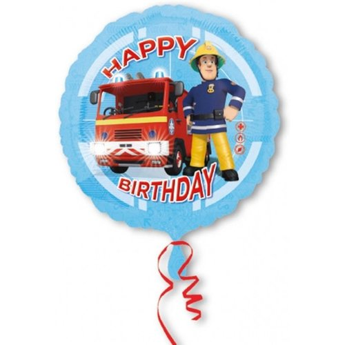Anagram Anagram - Folieballon - Brandweerman Sam - 43cm