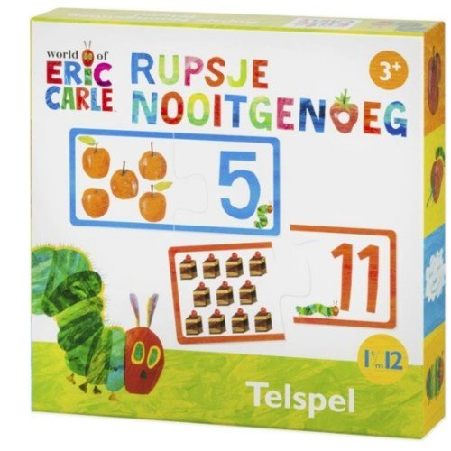 Bambolino Toys Spel - Telspel - Rupsje Nooitgenoeg
