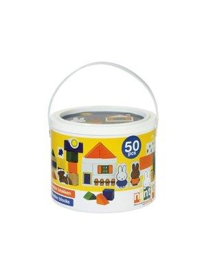 Bambolino Toys Blokken in ton - Nijntje - 50dlg.