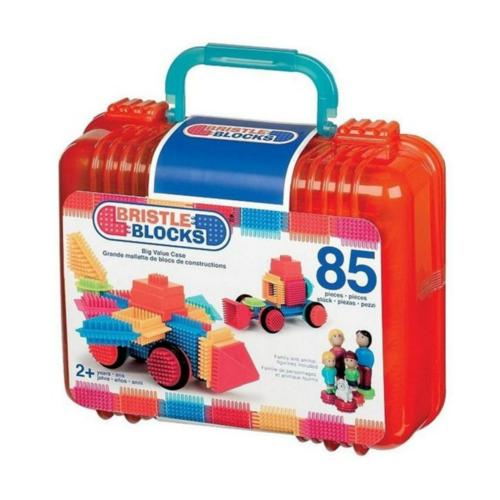 Battat - Bristle blokken - In koffer - 85dlg