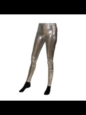 Partychimp Partychimp - Legging - Zilver - Maat L/XL