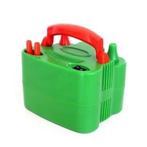 PartyXplosion Ballonpomp - Elektrisch - Oranje/groen