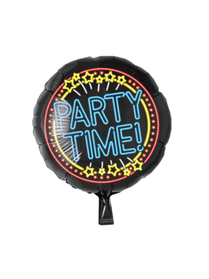 Paperdreams Paperdreams - Folieballon - Party Time - Neon