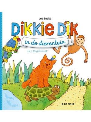 Gottmer Boek - Flapjesboek - Dikkie Dik in de dierentuin