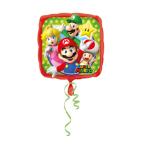 Anagram - Folieballon - Super Mario - Bros - Zonder vulling - 43cm