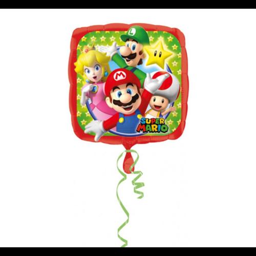 Anagram Anagram - Folieballon - Super Mario - Bros - Zonder vulling - 43cm