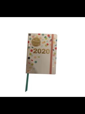 Paperclip Paperclip - Agenda - Confetti - 2020 - 10,5x14,8cm