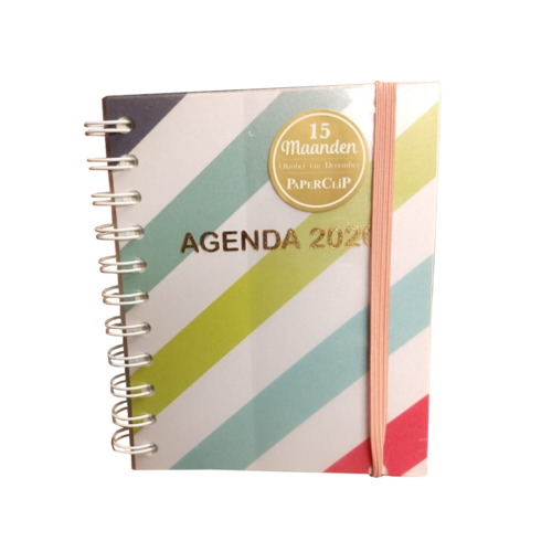 Paperclip Paperclip - 15 Maanden Agenda 2020 - Streep