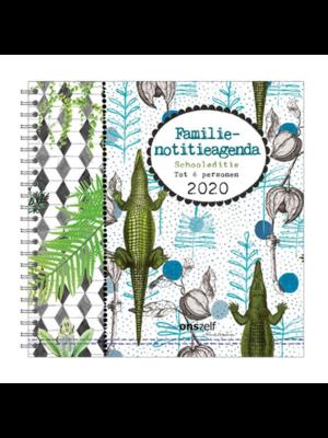 Comello Comello - Agenda - Spiraal - Familienotitieagenda - Schooleditie - Krokodil - 2020