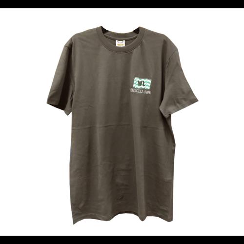 1234feest 1234feest - T-shirt - Westland - Donker grijs - Helemaal Goud - XL