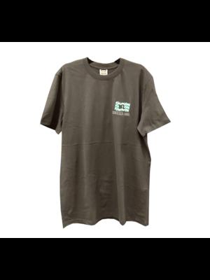 1234feest 1234feest - T-shirt - Westland - Donker grijs - Helemaal Goud - L
