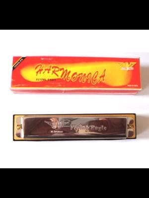 Twisk Mondharmonica - Metaal - 13,5cm