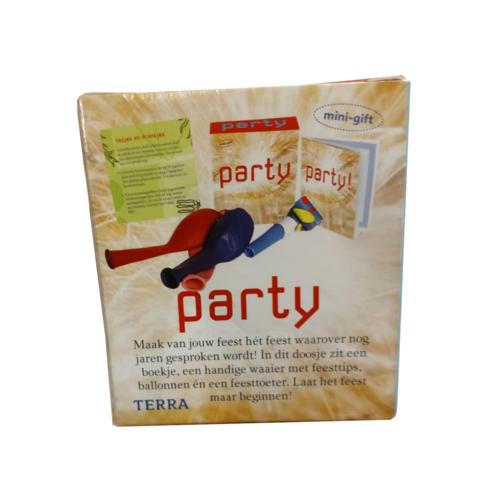 Terra - Boek - Mini gift - Party