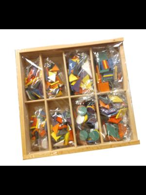 Melissa & Doug Mellissa & Doug - Mozaïek - In houten doos - 8 Designs