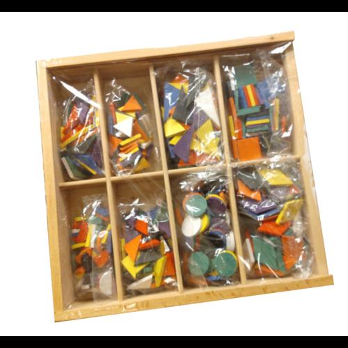 Melissa & Doug Mozaïek - In houten doos - 8 Designs