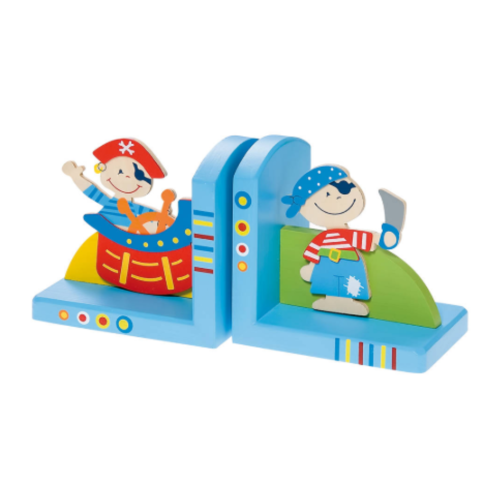 Simply for kids Boekensteunen - Piraat