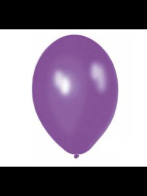 Ballonnerie Ballonnen - Violet - Metallic - 28cm - 100st.