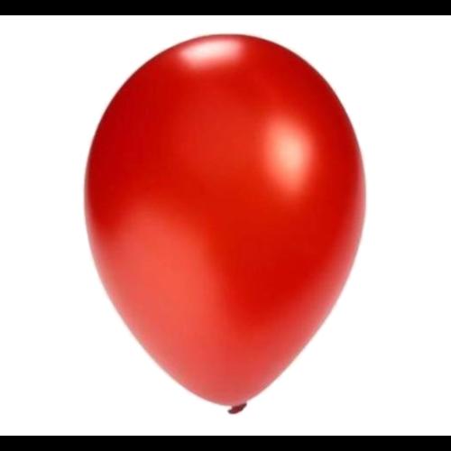 Ballonnerie Ballonnen - Rood - Metallic - 28cm - 100st.