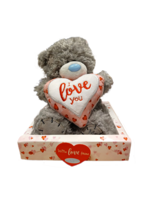 Me to You Me to you - Beer - I love you - Hart met hartjes - 16cm