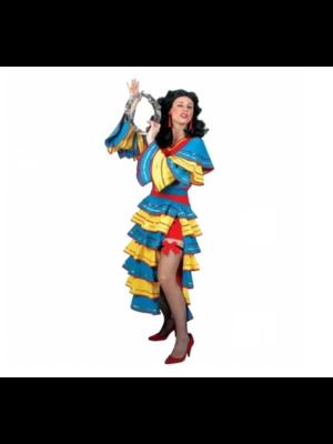 Funny Fashion Kostuum - Jurk - Spaans - Juanita - M