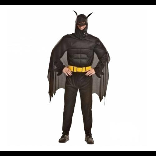 Partychimp Kostuum - Batman - Gespierd - M/L