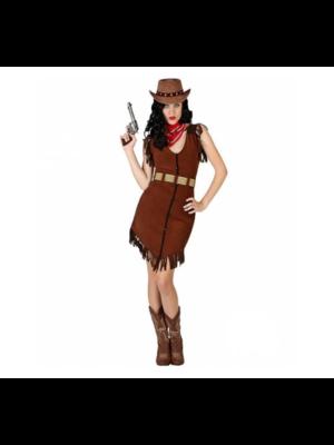 Partychimp Kostuum - Cowgirl - Amanda - XS/S