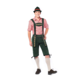 Kostuum - Lederhose - Johann - Groen - M