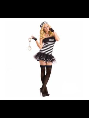 PartyXplosion Kostuum - Boevenjurk - Incl. accessoires - M/L