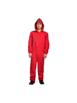 Overall - Met capuchon - Man - Rood - M/L