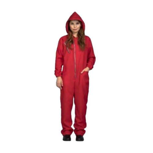 Overall - Met capuchon - Vrouw - Rood - M/L