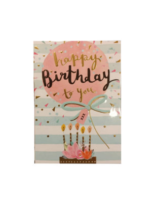 Louise Tiler Lannoo - Kaart - Louise Tiler - Happy birthday to you - TW023