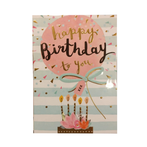 Louise Tiler Kaart - Louise Tiler - Happy birthday to you - TW023