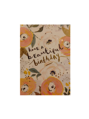 Louise Tiler Kaart - Louise Tiler - Beautiful birthday - SS011
