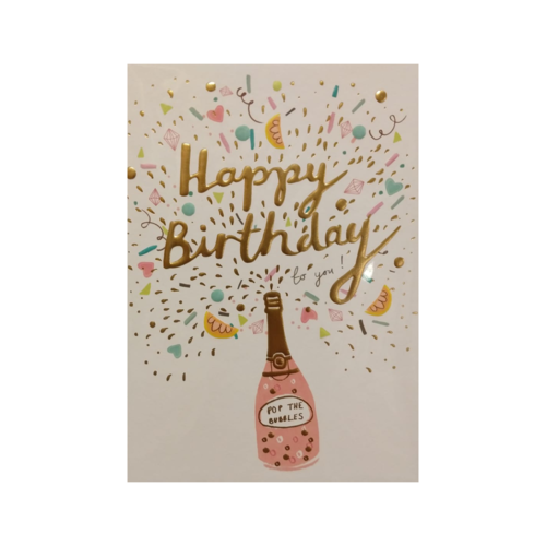Louise Tiler Lannoo - Kaart - Louise Tiler - Happy Birthday - TS001