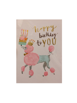 Louise Tiler Kaart - Louise Tiler - Happy birthday to you - TS020