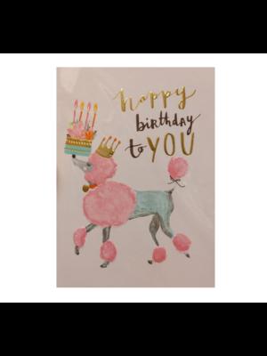 Louise Tiler Lannoo - Kaart - Louise Tiler - Happy birthday to you - TS020