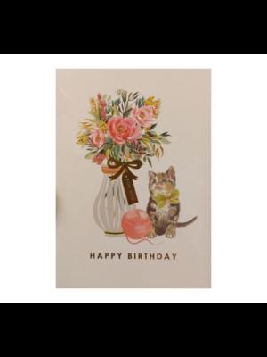 Louise Tiler Kaart - Louise Tiler - Happy birthday - Poes - FA009