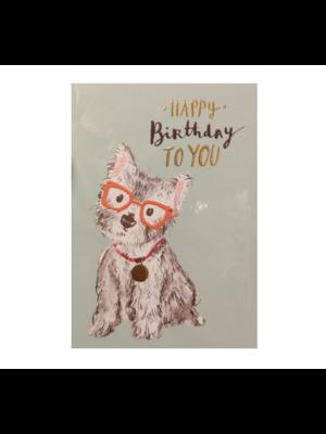 Louise Tiler Lannoo - Kaart - Louise Tiler - Happy birthday to you - TS024