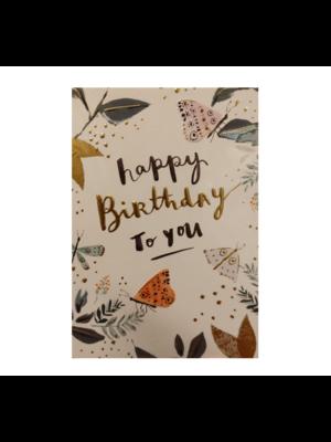 Louise Tiler Lannoo - Kaart - Louise Tiler - Happy birthday to you - SS001