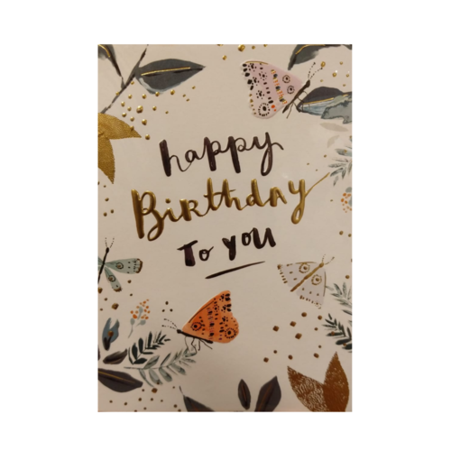 Louise Tiler Kaart - Louise Tiler - Happy birthday to you - SS001