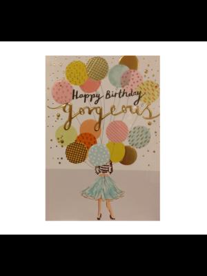 Louise Tiler Kaart - Louise Tiler - Happy birthday gorgeous - TS005