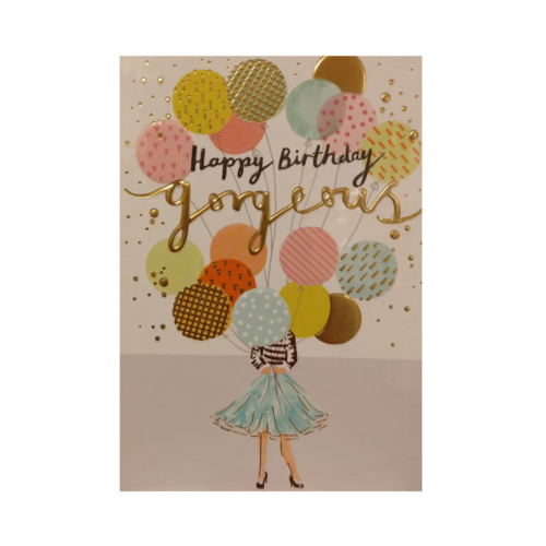 Louise Tiler Lannoo - Kaart - Louise Tiler - Happy birthday gorgeous - TS005