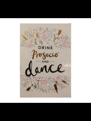 Lannoo Kaart - Louise Tiler - Drink prosecco and dance -TW009