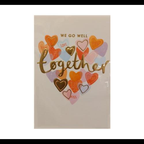 Lannoo Kaart - Louise Tiler - We go well together - TS015