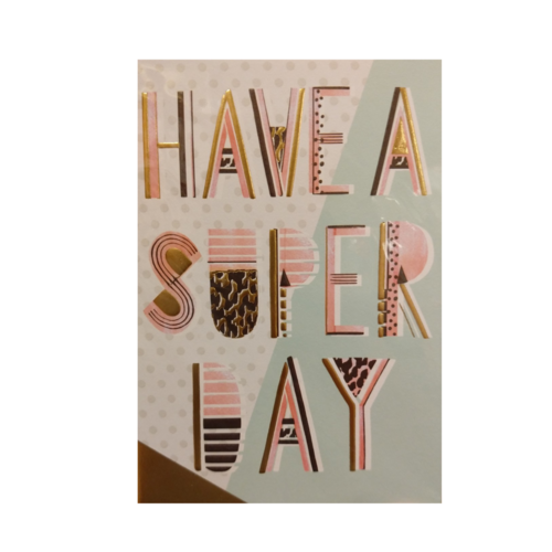 Lannoo Kaart - Louise Tiler - Have a super day - CC010