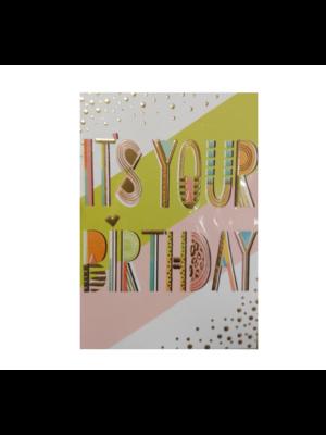 Lannoo Kaart - Louise Tiler - It's your birthday - CC016