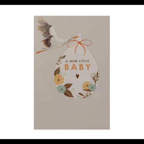 Louise Tiler Lannoo - Kaart - Louise Tiler - A new little baby - FA001