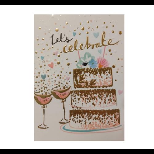 Louise Tiler Kaart - Louise Tiler - Let's celebrate - TS014